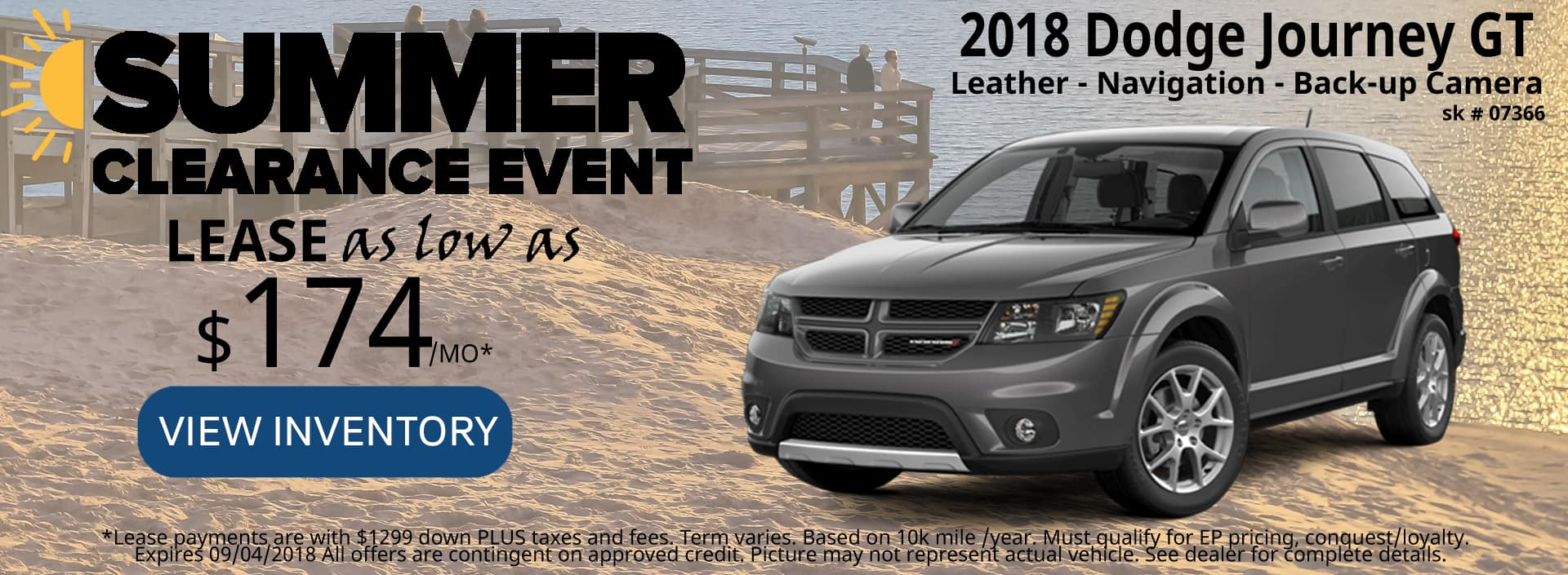 August 2018 Special Dodge Journey GT