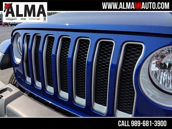 Jeep Wrangler JK Ocean Blue Metallic