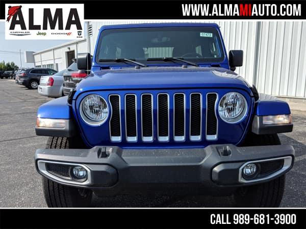 Jeep Wrangler JK Ocean Blue Metallic