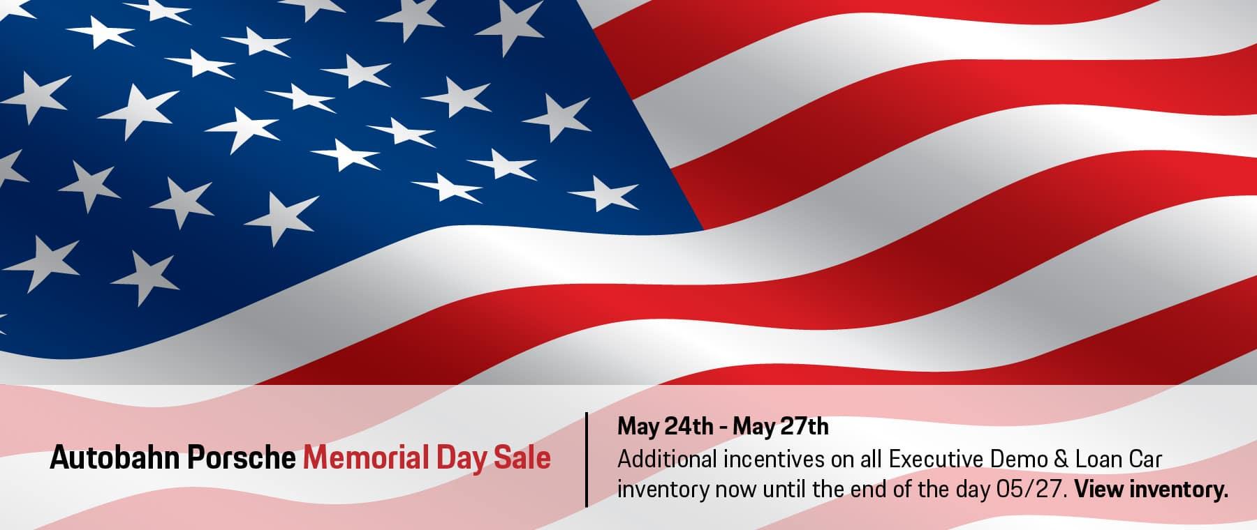 Autobahn Porsche Fort Worth   Memorial Day Sale Specials