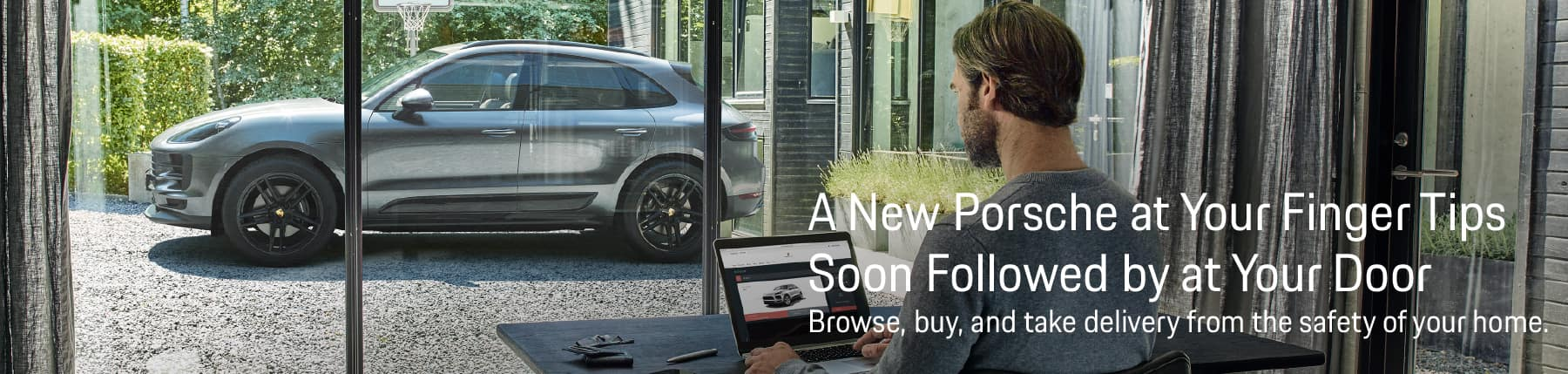 Buy your next Porsche from the comfort of your own home or office with Home Delivery from Autobahn Porsche Fort Worth.