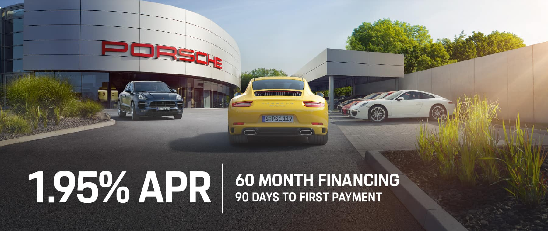 Welcome to Autobahn Porsche Fort Worth | 1.95% 60-Month Finance Rate!