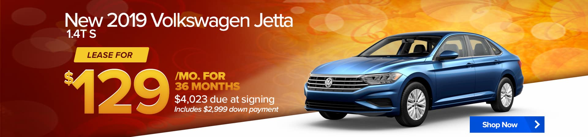 September special for the Volkswagen Jetta/