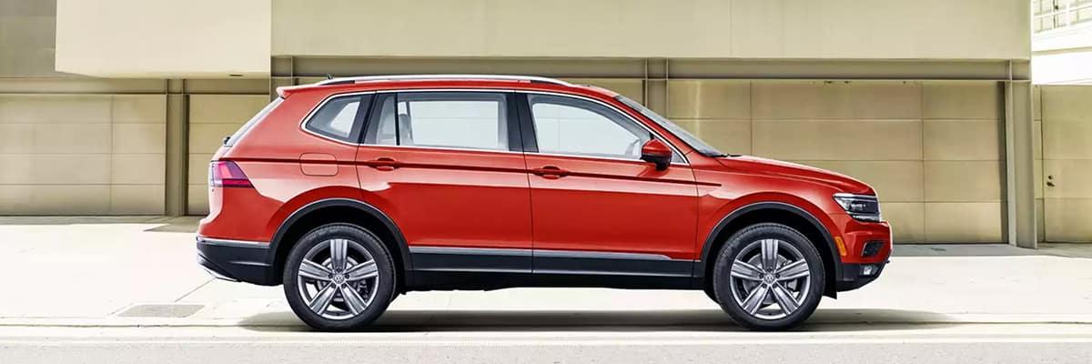 The 2018 Volkswagen Tiguan Limited.
