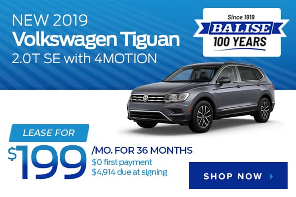 New 2019 Volkswagen Tiguan 2.0T SE with 4MOTION
