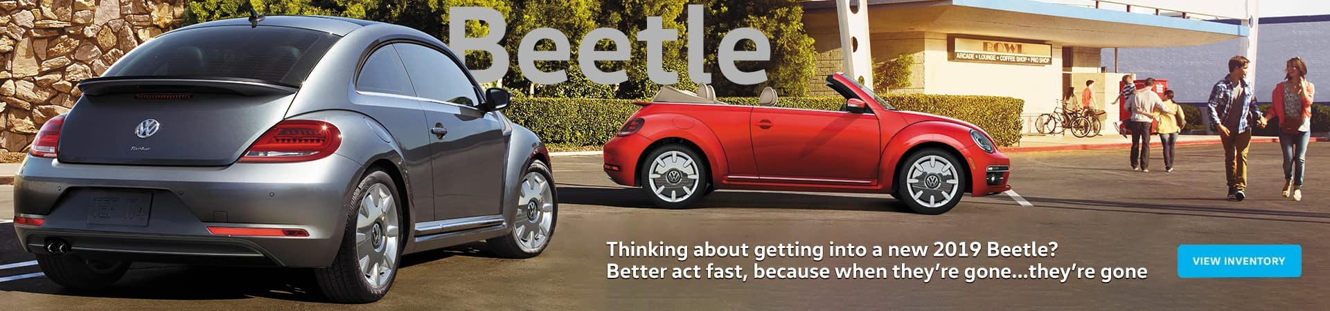 2019 VW Beetle