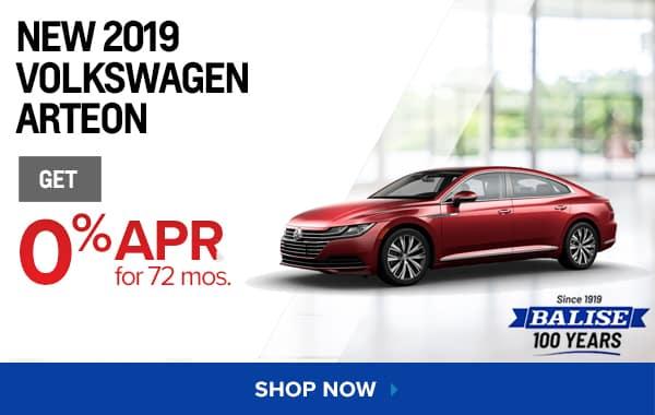 New 2019 Volkswagen Arteon