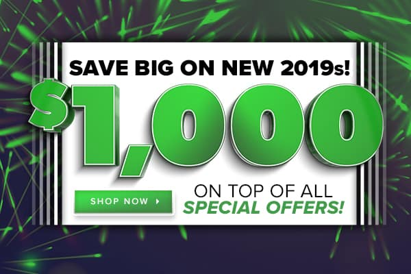 Save BIG on Remaining New 2019 Volkswagen Vehicles