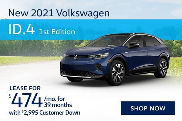 New 2021 Volkswagen ID.4 1st Edition