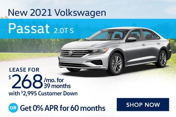 New 2021 Volkswagen Passat 2.0T S