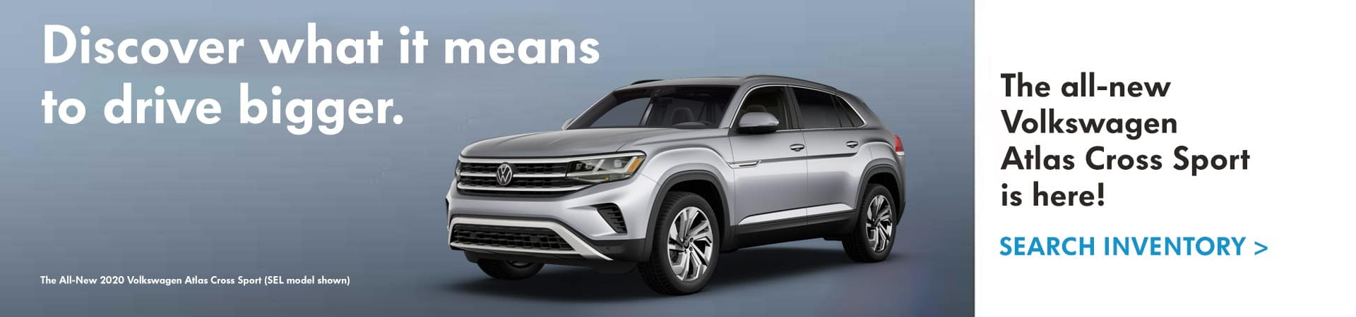 All-New 2020 Volkswagen Atlas Cross Sport