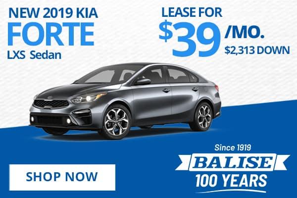 New 2019 Kia Forte LXS