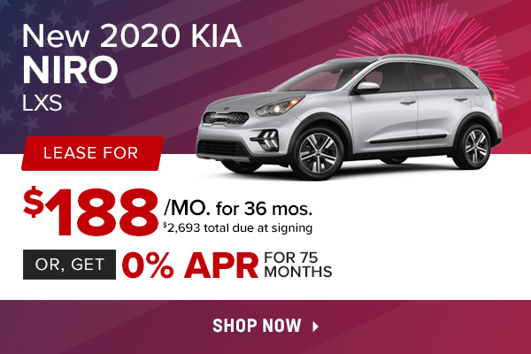 New 2020 Kia Niro LXS