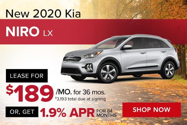 New 2020 Kia Niro LX