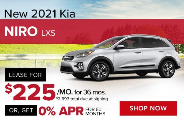 New 2021 Kia Niro LXS