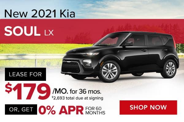 New 2021 Kia Soul LX