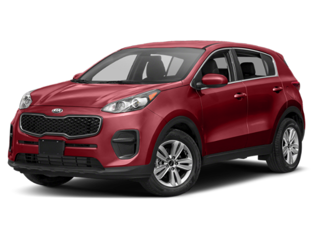 2019 Kia Sportage in red