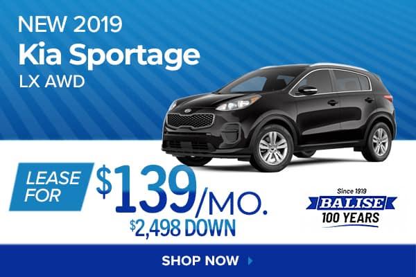 New 2019 Kia Sportage LX AWD