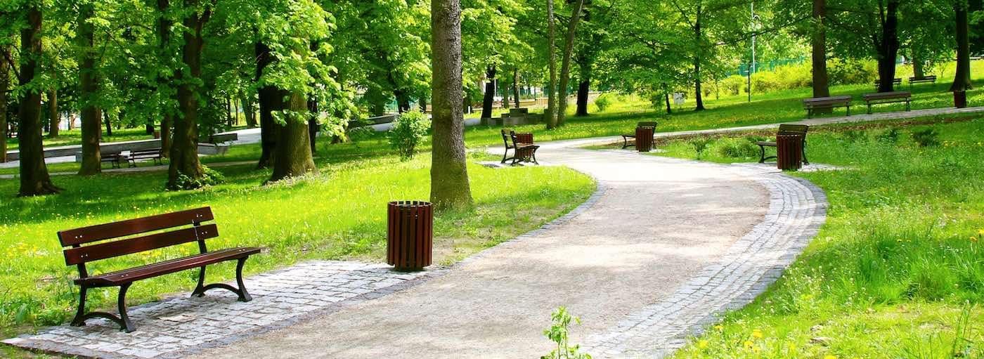 Beautiful Spring Park