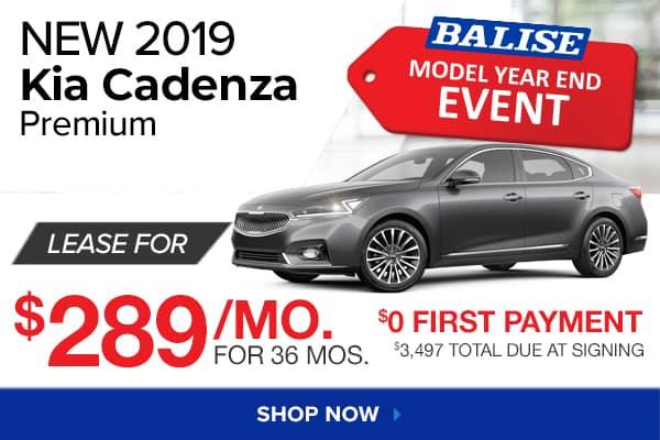 New 2019 Kia Cadenza Premium