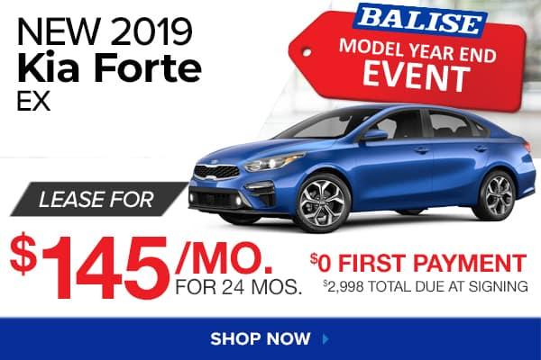 New 2019 Kia Forte EX