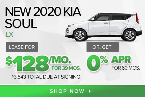 New 2020 Kia Soul LX