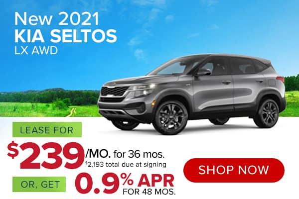 New 2021 Kia Seltos LX AWD