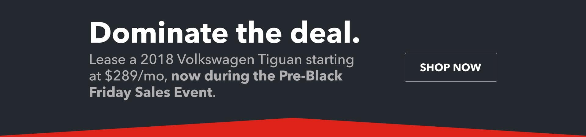 Dominate the Deal - Pre-Black Friday