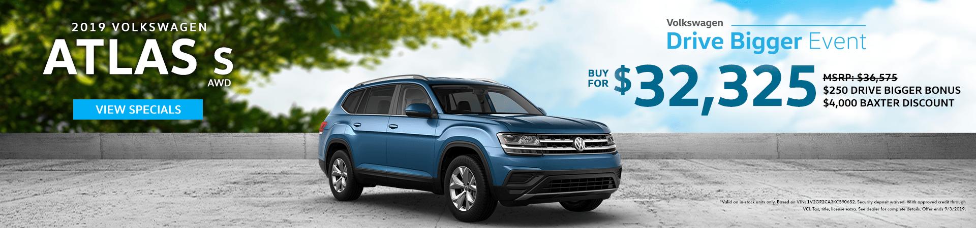 Drive Bigger Sales Event - 2019 Atlas