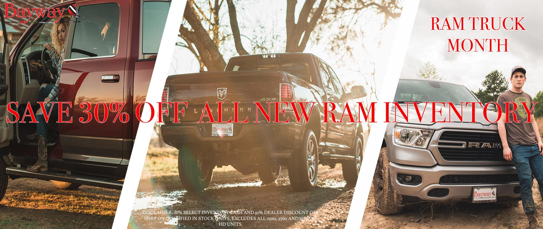 RAM Truck Month Clear Out