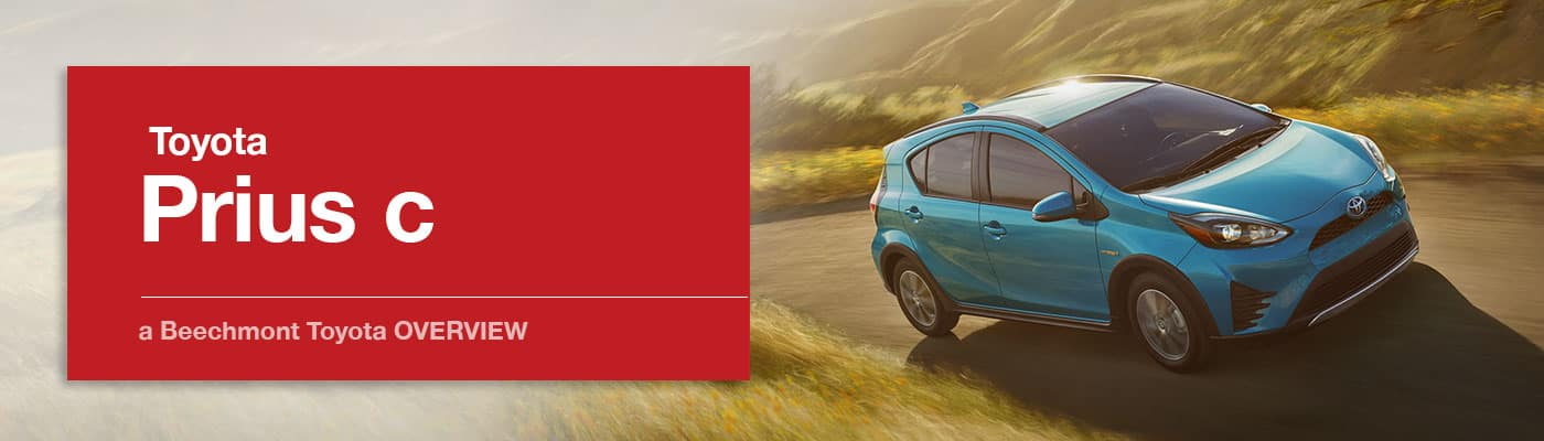Toyota Prius c Model Overview at Beechmont Toyota