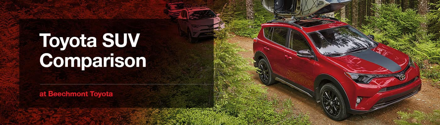 Toyota SUV Crossover Lineup Overview Beechmont