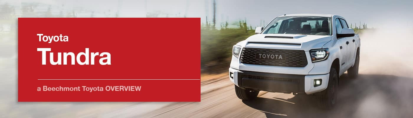 Toyota Tundra Model Overview at Beechmont Toyota
