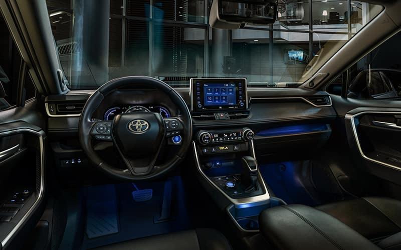 2019 Toyota RAV4 Hybrid XSE Interior