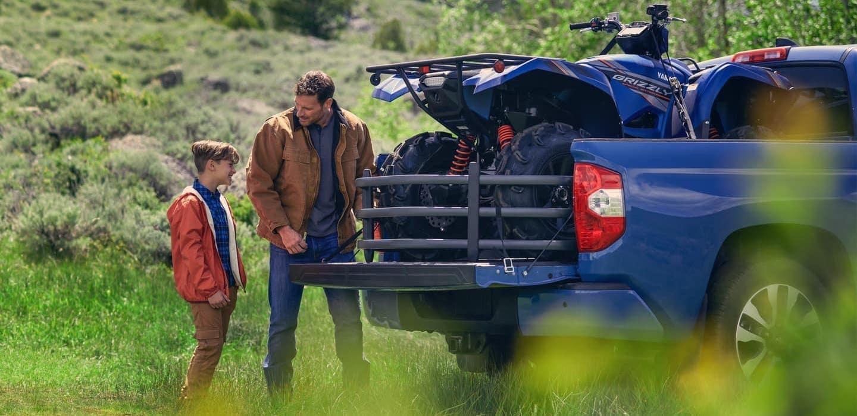 2020 Tundra Hauling ATV
