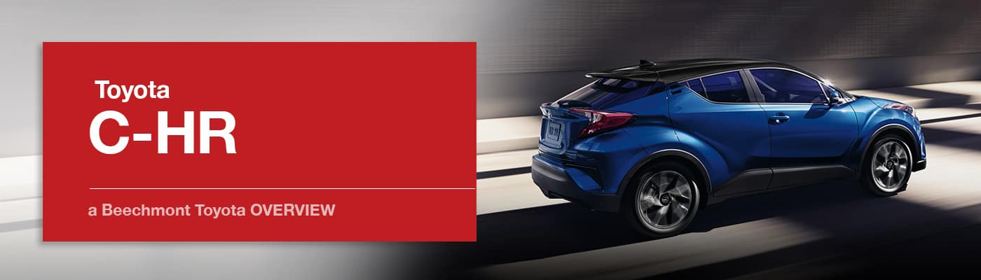 Toyota C-HR Model Overview at Beechmont Toyota