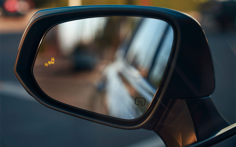 Toyota Highlander Blind Spot Monitoring System