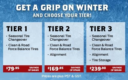 Winter Tires Winnipeg