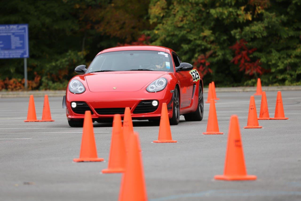 Kentucky Region Sports Car Club of America Porsche Solo Autocross