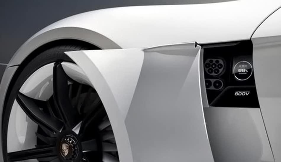Porsche Taycan Charging Port