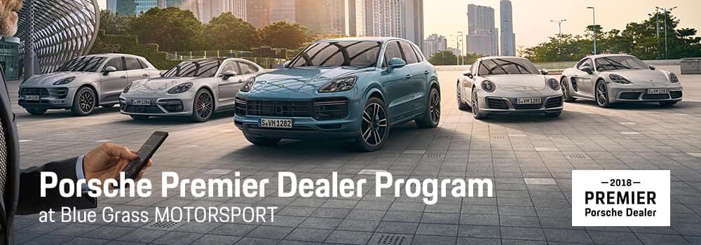 Porsche Premier Dealer Program at Blue Grass MOTORSPORT