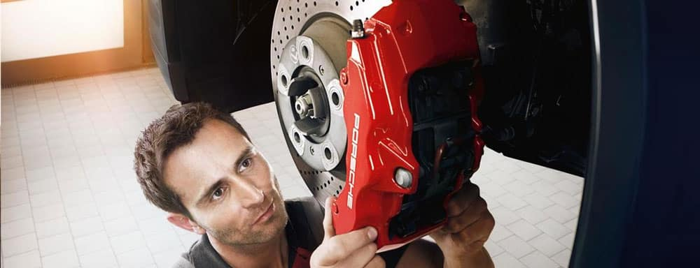 Porsche Technician Brake Repair Service