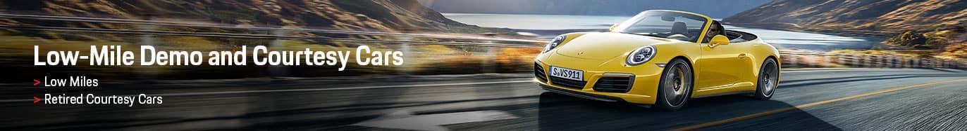 Porsche Low Mileage Demo Vehicles for Sale in Louisville
