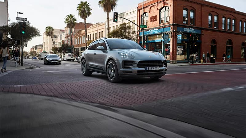 2019 Porsche Macan Side Profile