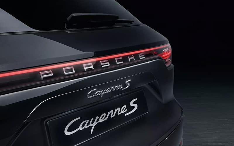 Porsche Cayenne S Rear