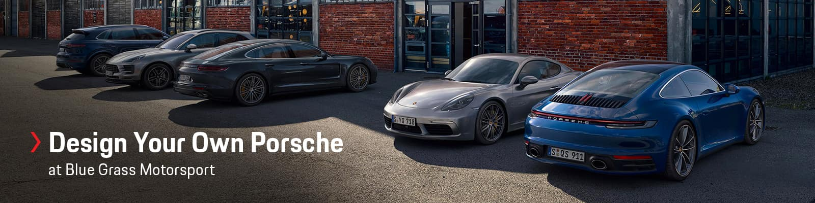 Custom Order Your Porsche at Porsche Louisville