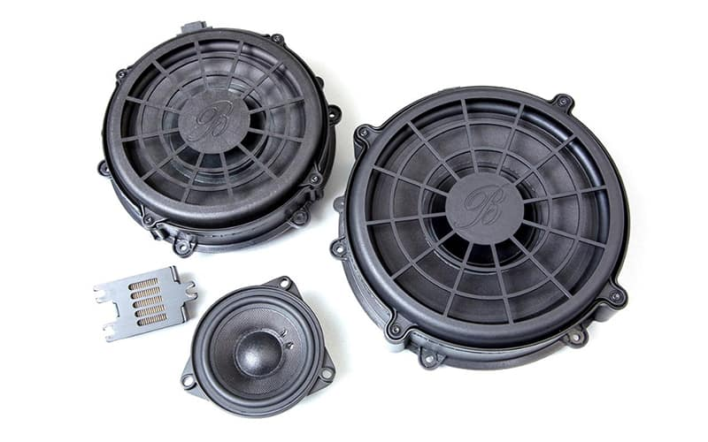 Porsche Burmester 3D High-End Surround Sound System
