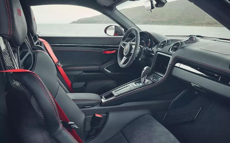 Porsche 718 Cayman T Interior