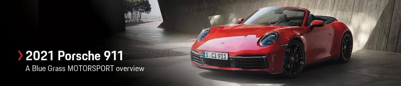 2021 Porsche 911 Model Overview at Porsche Louisville