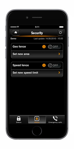 Porsche Car Connect App Speed Fencing and Geofencing